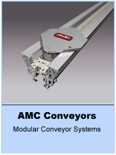 belt conveyors, roller conveyors, palletized conveyors