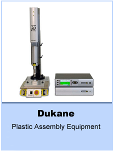 Ultrasonic plastic assembly equipment