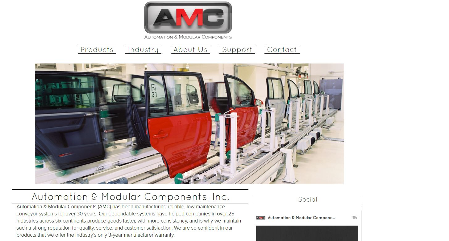AMC website