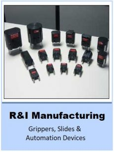 Grippers, Slides & Automation Devices