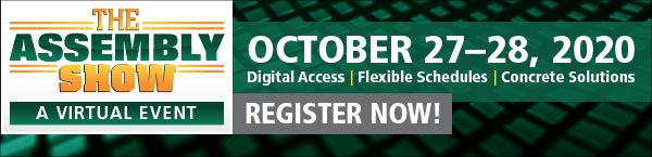 Join Our Partners At The Virtual Assembly Show Oct 27, 28